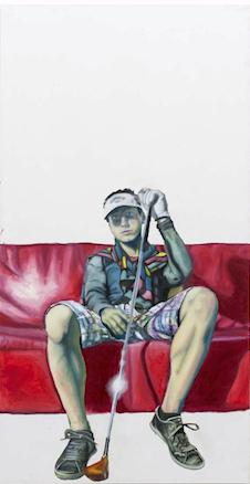 Maximilian Siegenbruk . Kunst Düsseldorf . portraits . kostka 2014 . red carpet