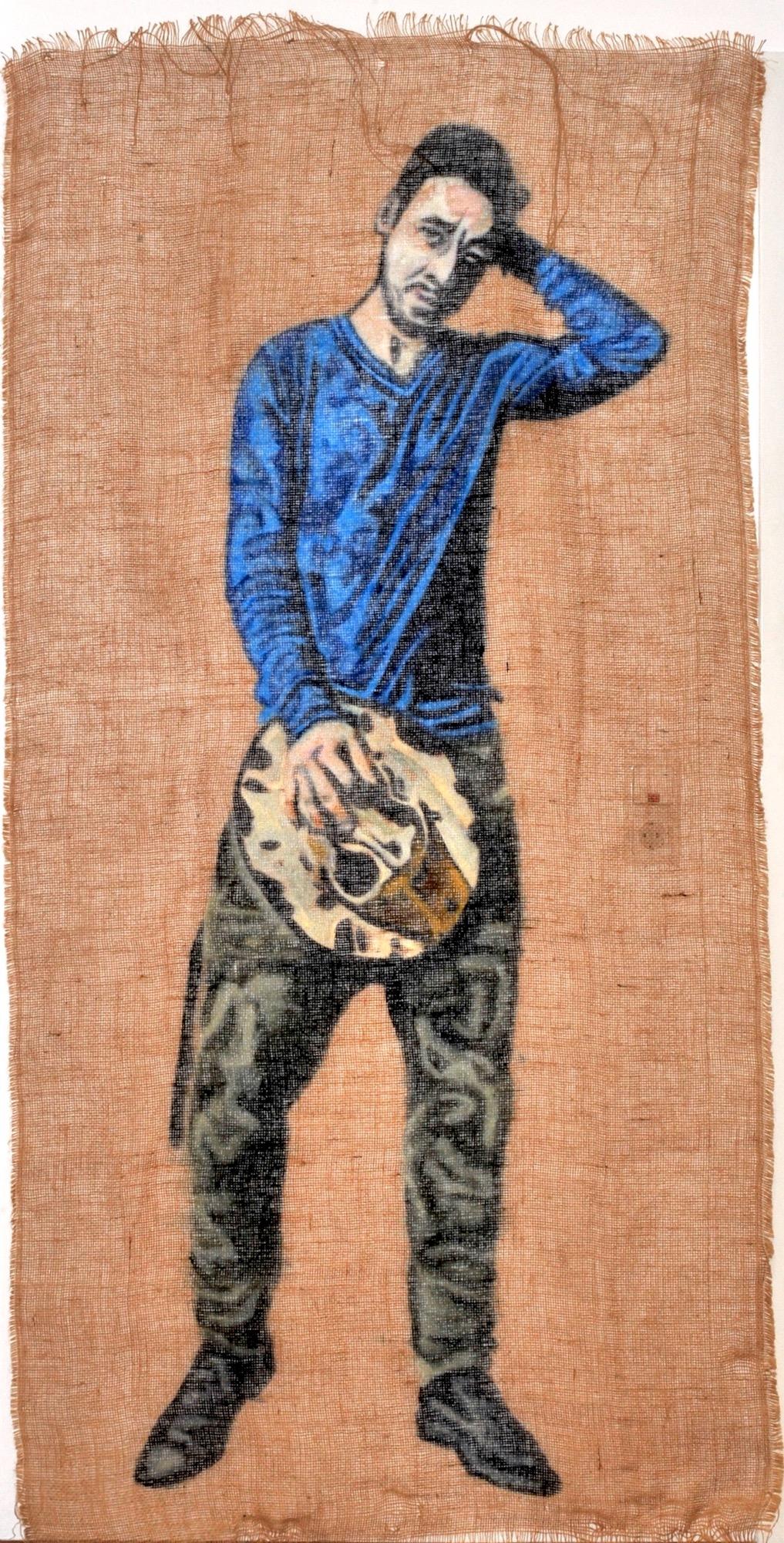 Maximilian Siegenbruk . Kunst Düsseldorf . portraits . kostka 2015