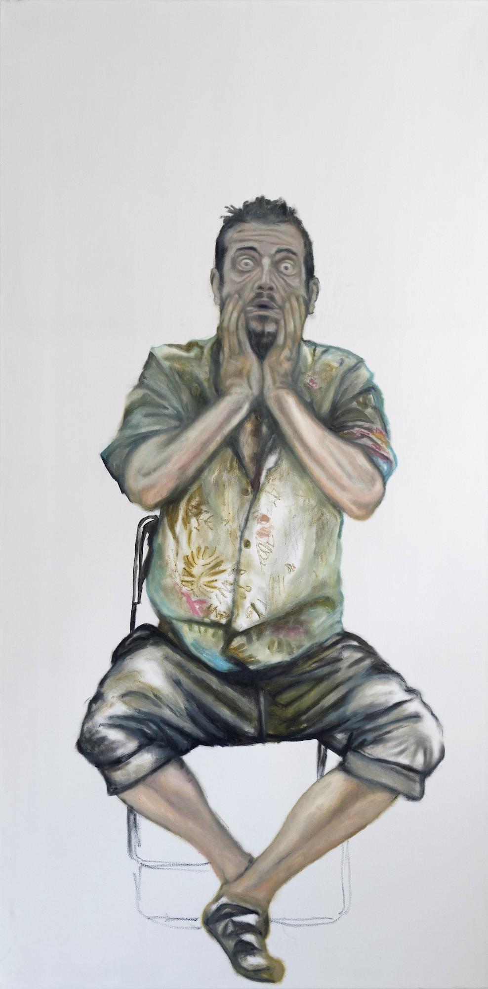 Maximilian Siegenbruk . Kunst Düsseldorf . portraits . 50-50