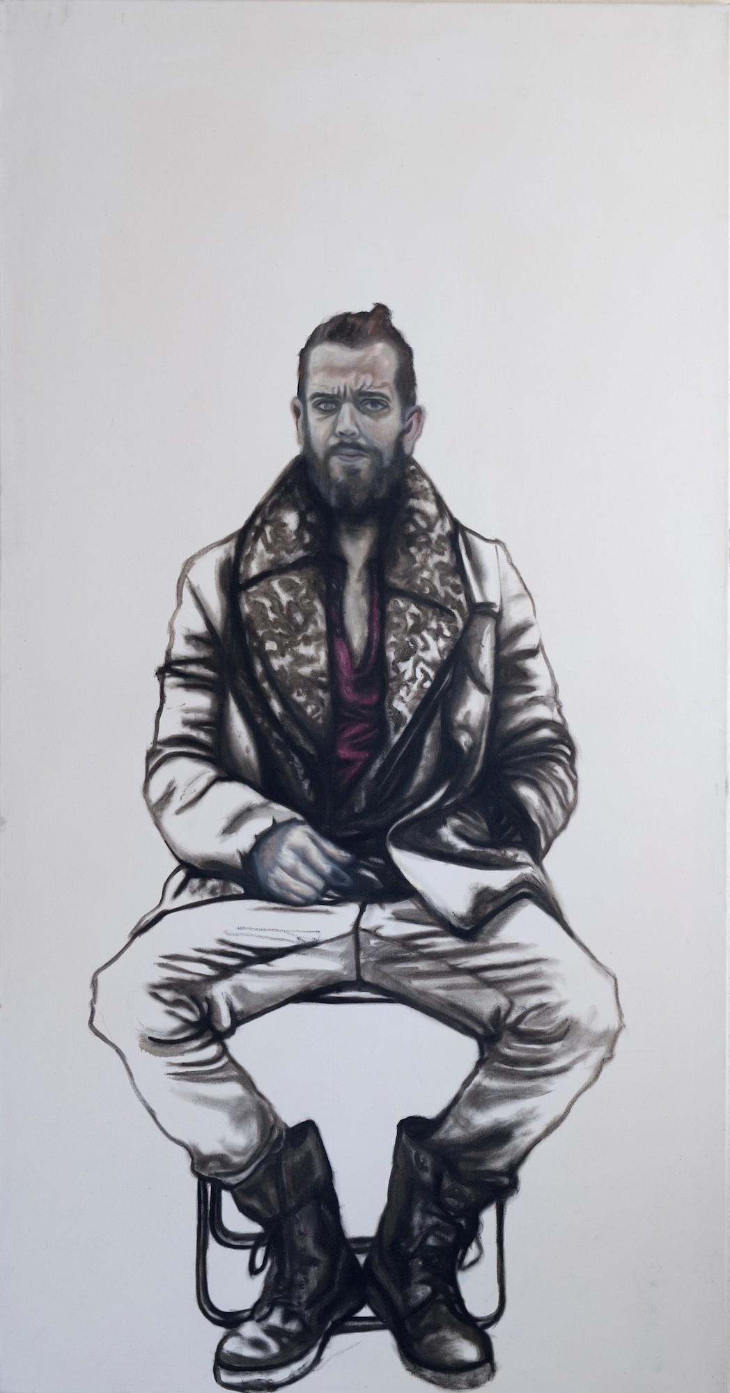 Maximilian Siegenbruk . Kunst Düsseldorf . portraits . selbstportrait