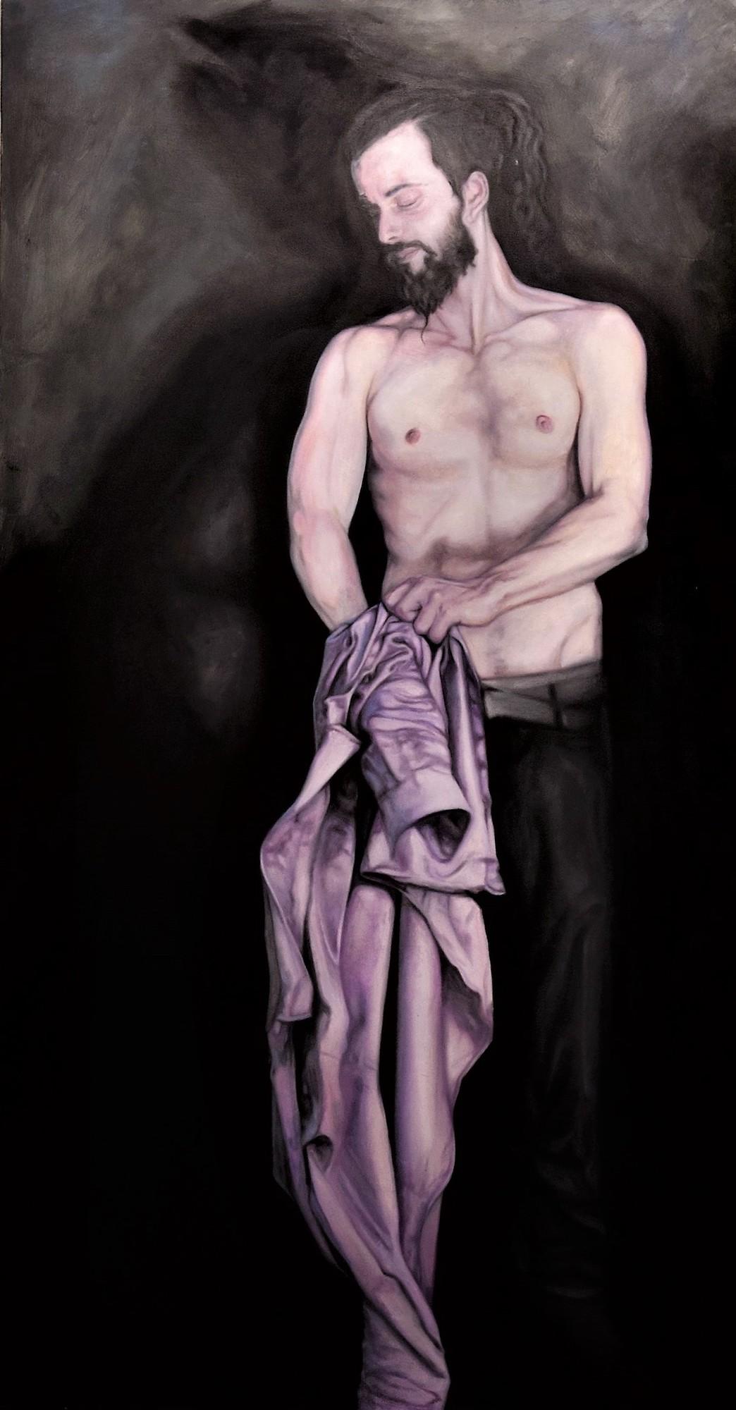 Maximilian Siegenbruk . Kunst Düsseldorf . selbstportraits . self portrait